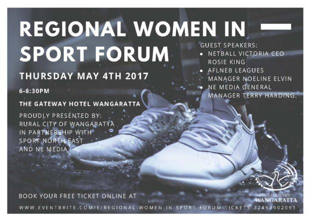 regional women in sport forum